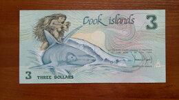 Банкноты - Острова КУКА  3 доллара 1992 г., 0