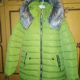 Куртки и пуховики -  Куртка - пуховик  (удлинённая)  для девочки , 0