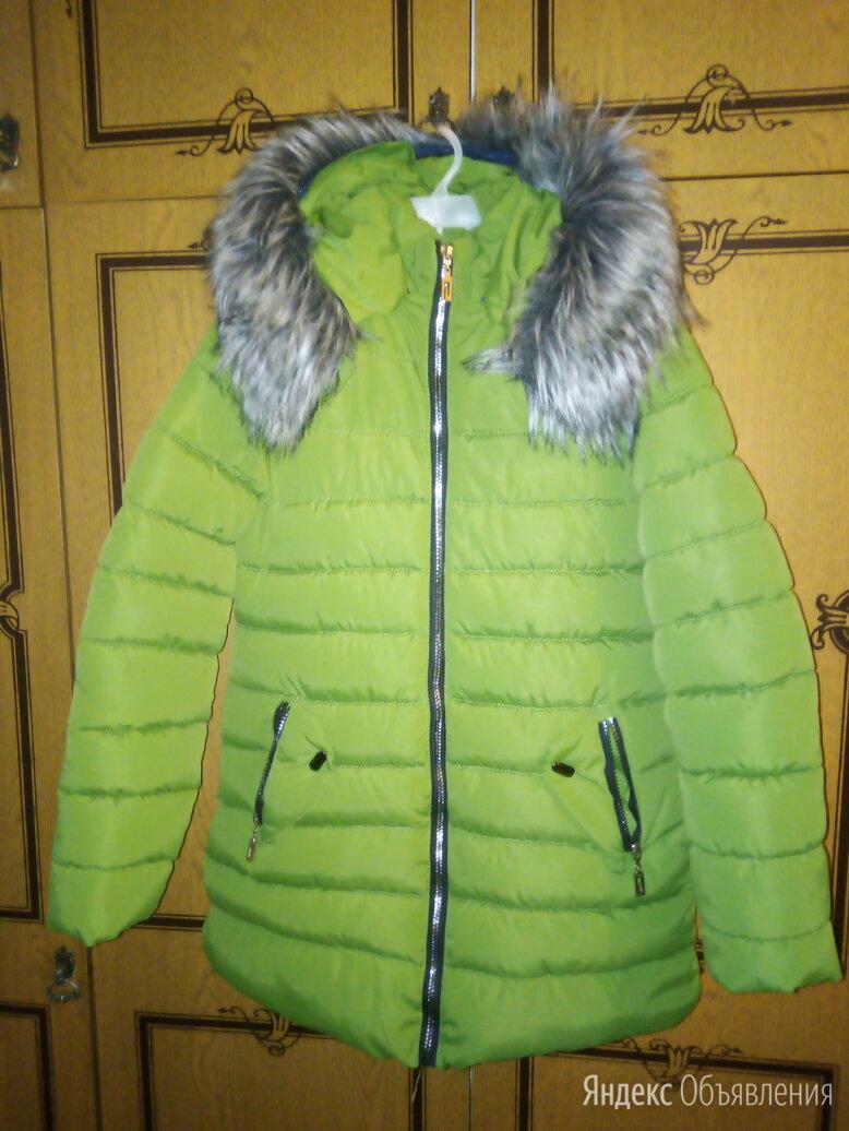 Куртка - пуховик  (удлинённая)  для девочки  по цене 600₽ - Куртки и пуховики, фото 0