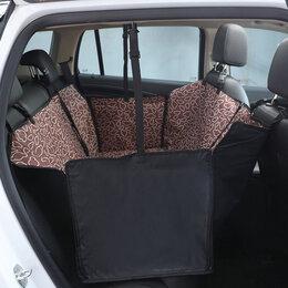 Транспортировка, переноски - Автогамак накидка для перевозки собак на заднее сиденье, 0