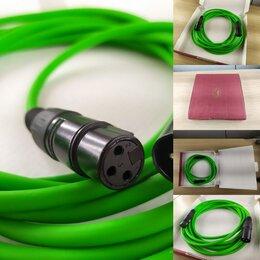 Оборудование для звукозаписывающих студий - Микрофонный кабель 5м XLR-XLR Hermitage Vintage Cable, 0