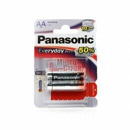 Батарейки - Батарейка Тип «АА» Panasonic LR 6 Everyday 2шт/бл, 0