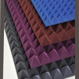 Изоляционные материалы - Акустический поролон Пирамида 30, 0