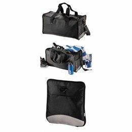 Дорожные и спортивные сумки - Сумка Hama дорожная, складная, нейлон, черный 1053, 0