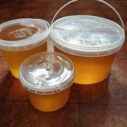 Продукты - Мед  натуральный луговой с личной пасеки, 0