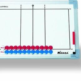 Настольные игры - Такт. доска для вол. «MIKASA SB-V», 45х30см,двухстор,кольца для подвеш,маркеры 2, 0