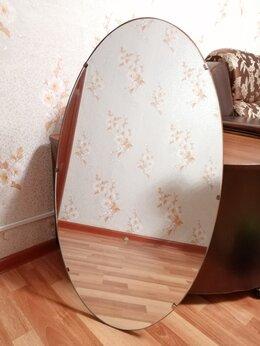 Зеркала - Настенное овальное зеркало производство СССР, 0