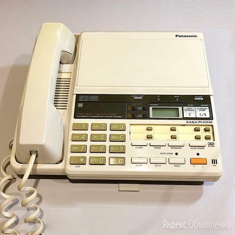 Телефон-автоответчик Panasonic KX-T247B по цене 800₽ - Проводные телефоны, фото 0