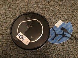 Роботы-пылесосы - ILIFE v55 Pro (Black)  для сухой и влажной уборки, 0
