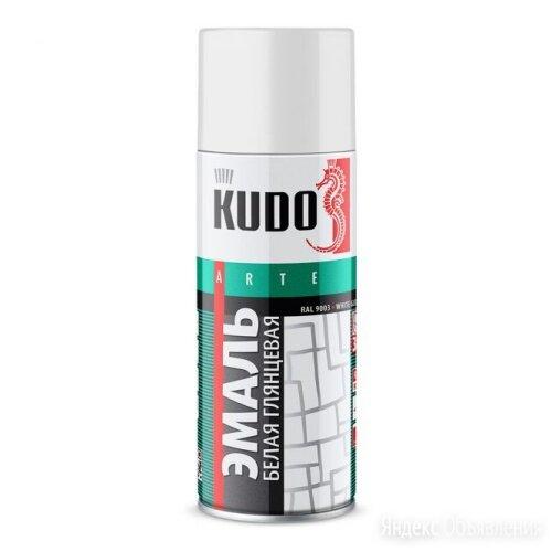 Эмаль для реставрации ванн и керамики Kudo белая, 0,52л по цене 200₽ - Эмали, фото 0