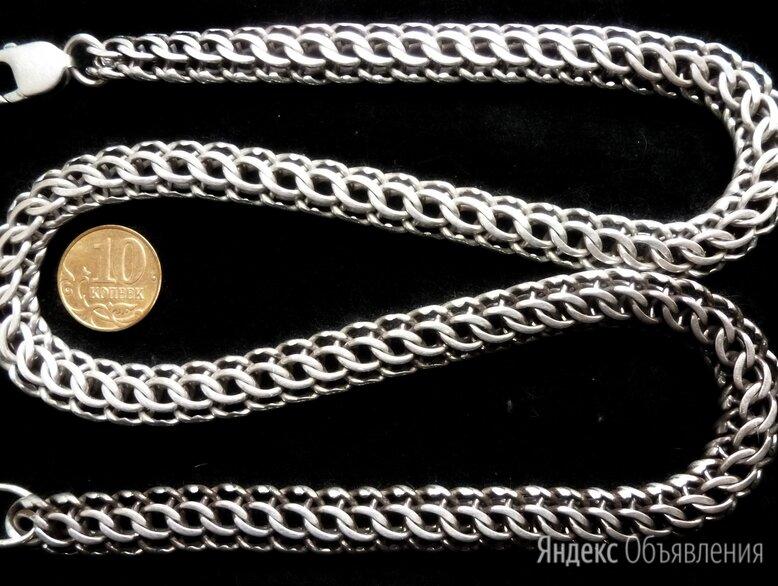 Серебряная цепь Фараон/Питон.Вес 75,2 грамма,длина 57 см по цене 10500₽ - Цепи, фото 0