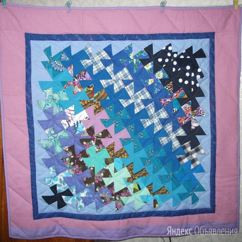 """Лоскутное одеяло """"Ветряные мельницы"""" по цене 3000₽ - Пледы и покрывала, фото 0"""