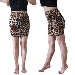 Юбки - Юбка леопардовая летняя, 0
