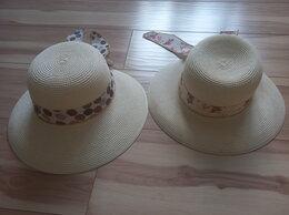 Головные уборы - Шляпка соломенная  для дачи/пляжа, 0