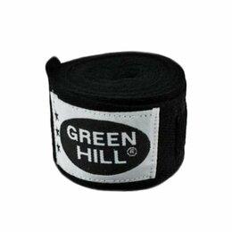 Аксессуары и принадлежности - Бинт боксерский Green Hill BP-6232c 3,5м черный, 0