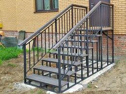 Лестницы и элементы лестниц - Металлические лестницы и  крыльцо в Тюмени / …, 0