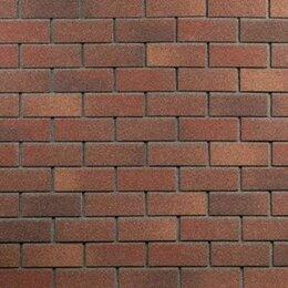 Фасадные панели - Фасадная плитка Hauberk ТЕХНОНИКОЛЬ битумная под Кирпич Терракотовый ТЕХНОНИК..., 0