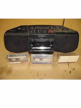 Музыкальные центры,  магнитофоны, магнитолы - Магнитола sony CFS-B21L, 0