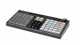 Принтеры чеков, этикеток, штрих-кодов - Программируемая клавиатура АТОЛ KB-76-KU черная…, 0