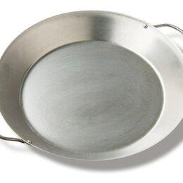 Сковороды и сотейники - Сковорода-Гриль Паэлья для гриля XXL/XL/L, круглая, 2 ручки, 3.8л Big Green Egg, 0