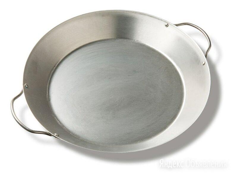 Сковорода-Гриль Паэлья для гриля XXL/XL/L, круглая, 2 ручки, 3.8л Big Green Egg по цене 5990₽ - Сковороды и сотейники, фото 0