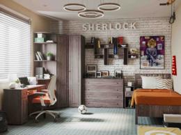 """Кровати - Модульная детская """"Sherlock"""", 0"""
