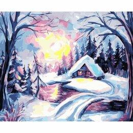 Рукоделие, поделки и товары для них - Картина по номерам Зимнее утро (GX 30743, 40x50…, 0