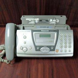 Системные телефоны - Факс Panasonic KX-FP143RU, 0