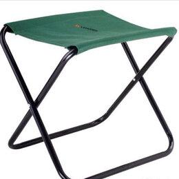 Походная мебель - Стул. Складной стул. тёмно-зелёный, болотный, 0