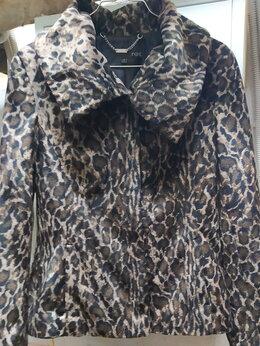 Пальто - Пальто женское леопардовый принт, размер 44, 0