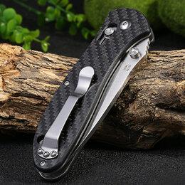 Ножи и мультитулы - Нож Ganzo G7391 CF карбон, 0
