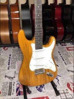 Акустические и классические гитары - Электрогитара Новая Натуральное дерево, 0