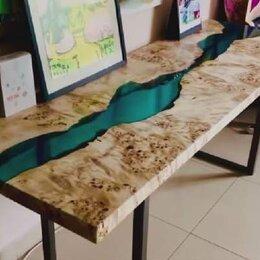 Столы и столики - Лофт стол река, 0