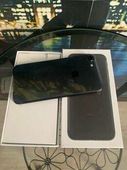 Мобильные телефоны - iphone 7 128gb black новый в пленках, 0