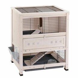 Клетки и домики  - Клетка для кроликов деревянная Cottage Mini, 0