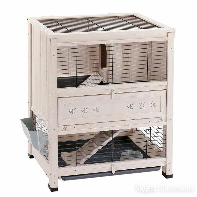Клетка для кроликов деревянная Cottage Mini по цене 15000₽ - Клетки и домики , фото 0