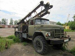 Спецтехника и навесное оборудование - Буровая машина МРК-750 / ЗИЛ 131, 0