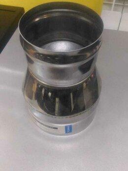 Дымоходы - Переходник дымохода 110х150 (430/0,8), 0