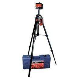 Измерительные инструменты и приборы - Уровень лазерный 100мм штатив 1300мм MATRIX, 0