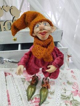 Статуэтки и фигурки - Тролль кукла ручной работы из полимерной глины.…, 0