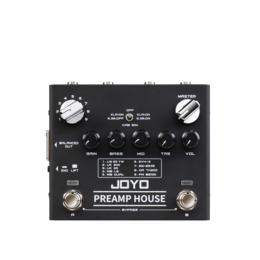Оборудование для звукозаписывающих студий - Педаль эффектов, Joyo | R-15-PREAMP-HOUSE-SIM, 0