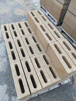 Строительные блоки - Полублок муровой 40х12х20 с производства, 0
