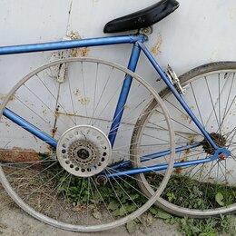 Велосипеды - ХВЗ рама с сидением и колесами, 0