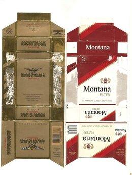 Этикетки, бутылки и пробки - Пачки из-под сигарет, 0