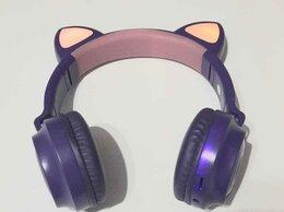 Наушники и Bluetooth-гарнитуры - Светящиеся беспроводные наушники (ушки) Cat ZW-028, 0