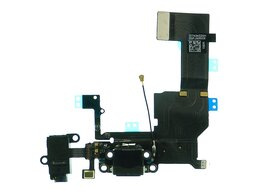 Шлейфы - Шлейф iPhone 5C с разьемом зарядки и аудио…, 0
