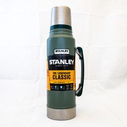 Термосы и термокружки - Термос Stanley Legendary Classic 1л. темно-зеленый 10-01254-038, 0
