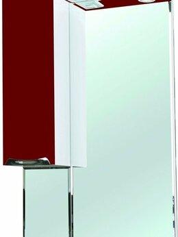 Зеркала - Зеркало-шкаф Bellezza Альфа 65 L красный, 0