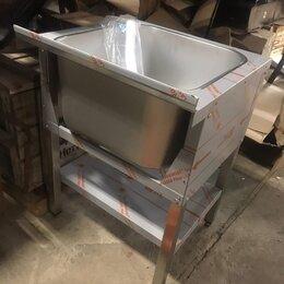 Прочее оборудование - Ванна моечная ВМП 6-1,5 РН, 1 секция, цельнотянутая, каркас проф.труба нерж., 0