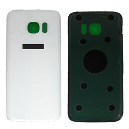 Корпусные детали - Задняя крышка Samsung S7 G930 White, 0